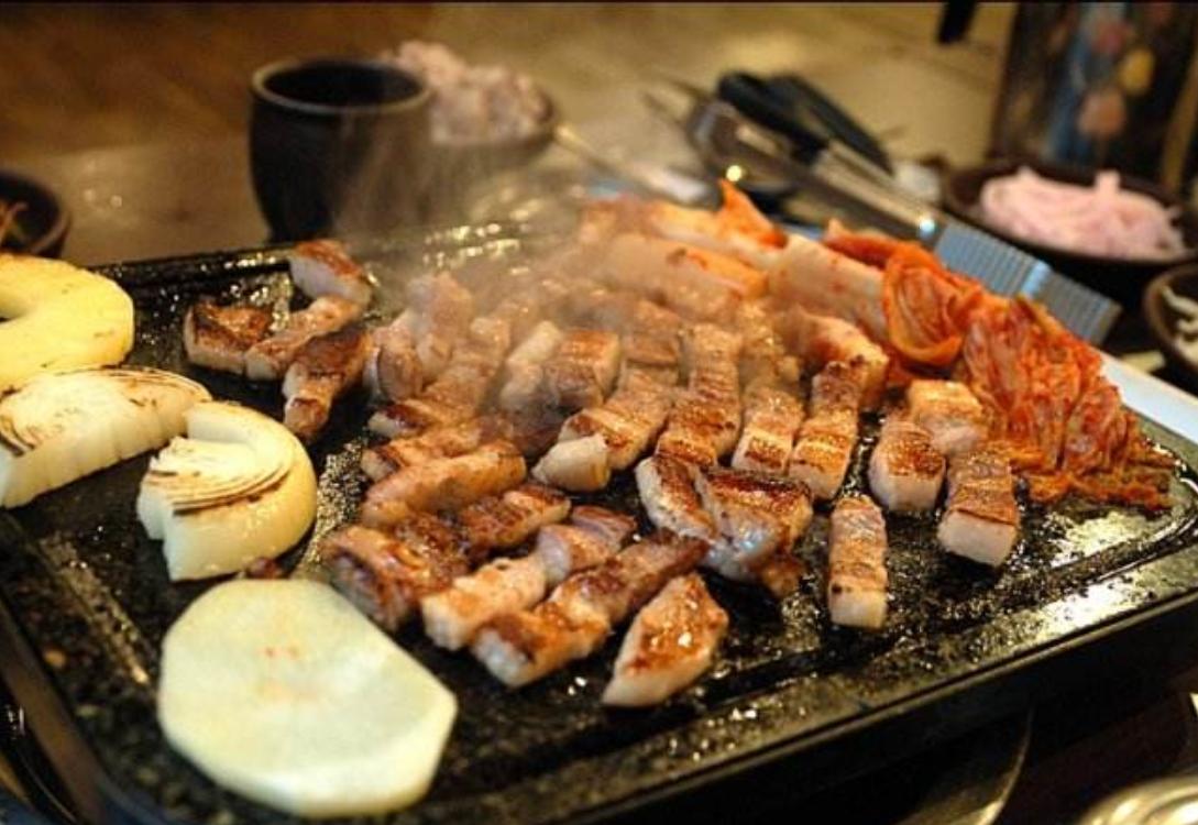 韩国烤五花肉